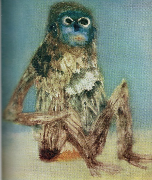 Sidney Nolan, Blue Monkey
